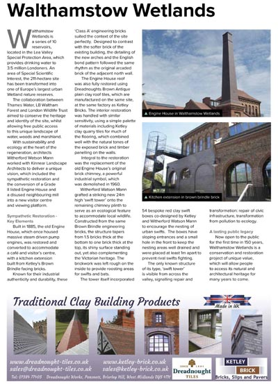 Heritage and traditional building mag-August 2018-Issue-2 copy