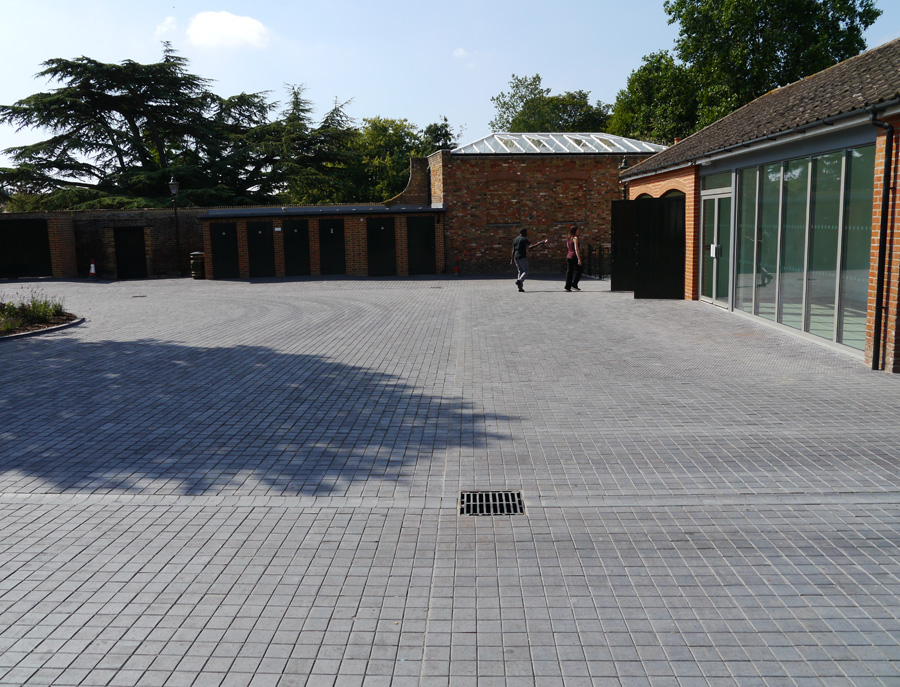 Langston Gdns stable courtyard