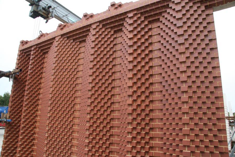 Precast Concrete Panel With Brick : Special bricks