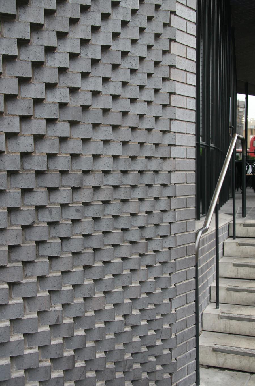 Open Brickwork Wall