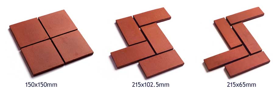 Red Quarry Tile product shot