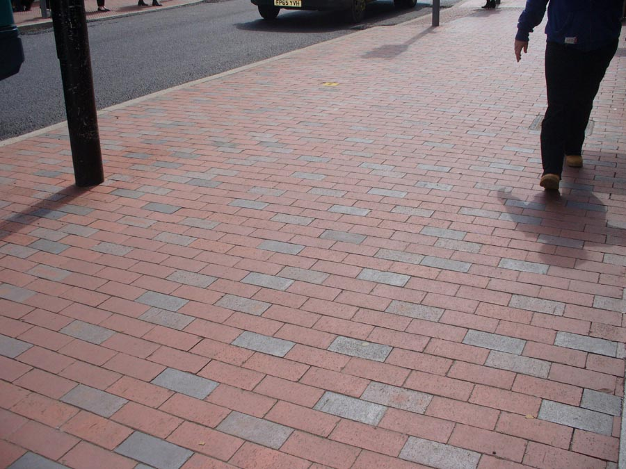 Red Paving Stones : Plain pavers