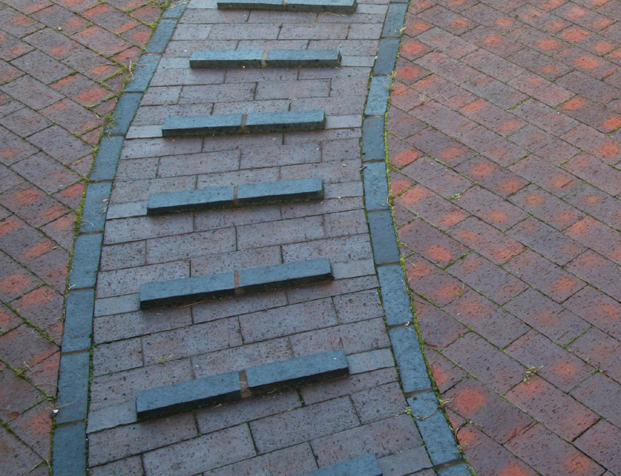 Ketley pavers at a Stourport Lock