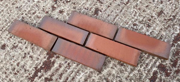 brown antique quarry tiles