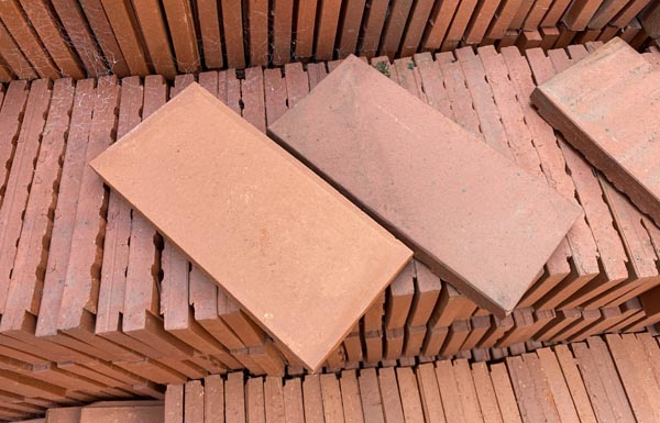 red paver sized quarry tiles commercials