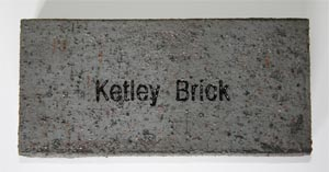 staffs blue engraved brick